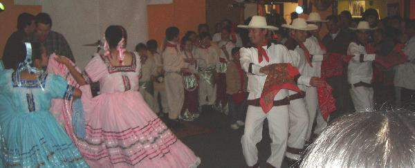 traditional dancers ...