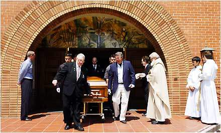Pallbearers Carry th...