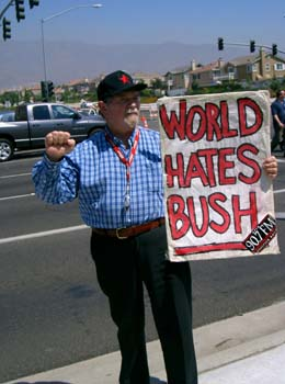 The World Hates Bush...