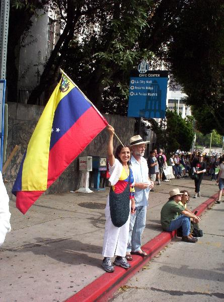 The Venezualan Flag...