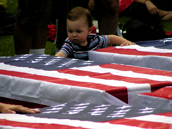 Baby with Coffins on...