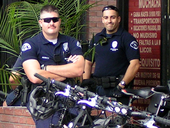 LAPD Cyclists...