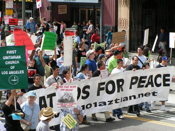 Latinoas for Peace...