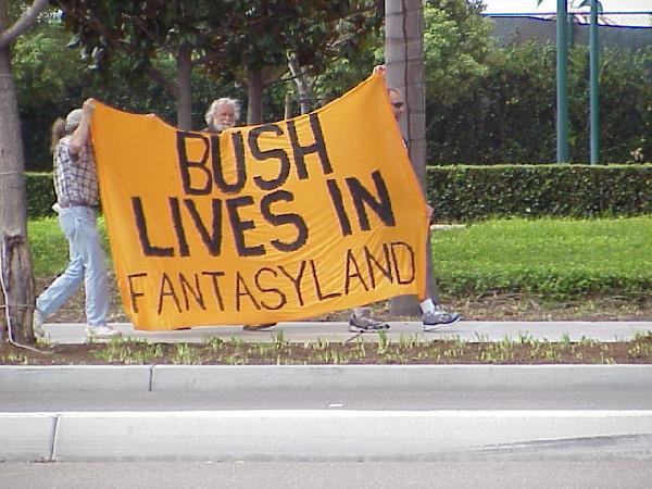 Bush in Fantasyland!...