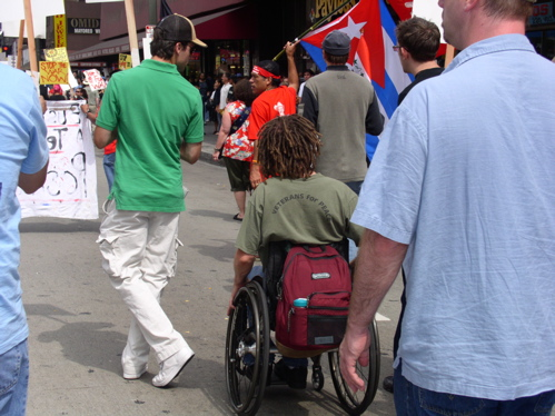 too many wheelchairs...