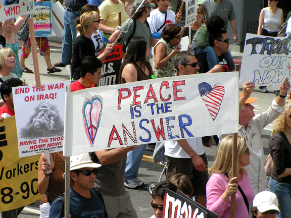 Peace is the Answer...