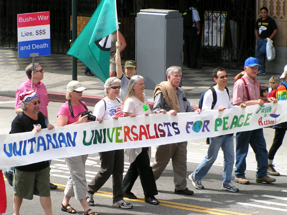 Unitarians for Peace...