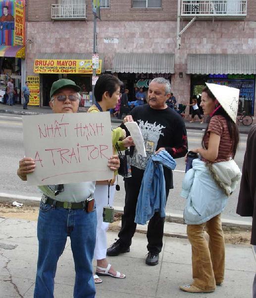 TNH Protestors Conve...