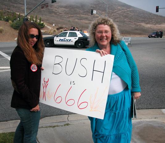 Bush is 666...