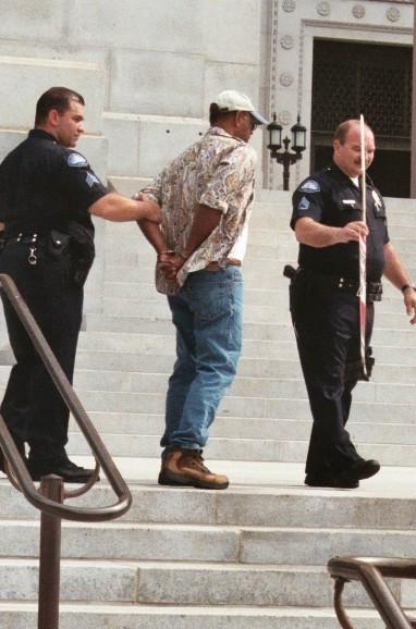 Arrested...