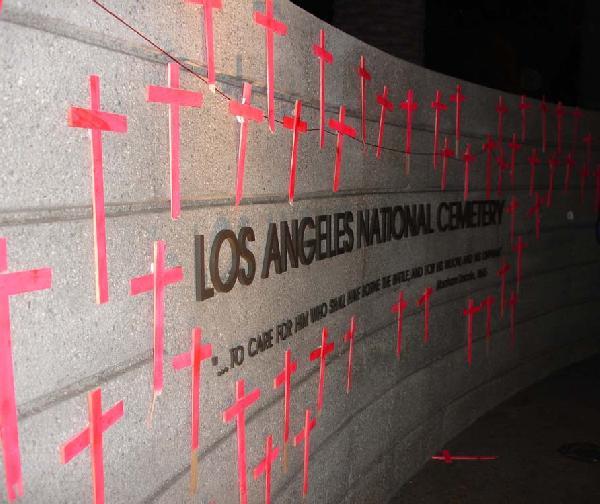 L.A. Cemetery Wall A...