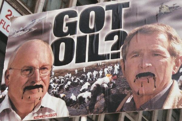 got oil...