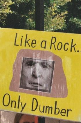 like a rock...