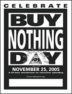 Buy Nothing Day - No...