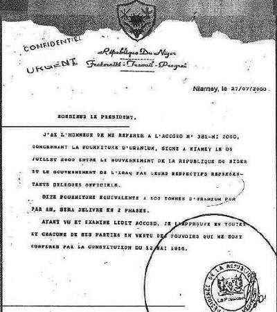 Niger Forgery 2 -- B...