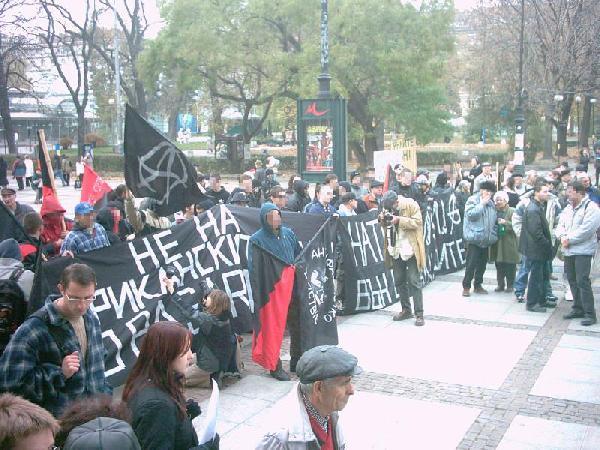 Sofia: Protest again...