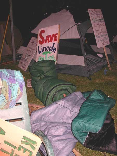 Photos: Tent City, L...