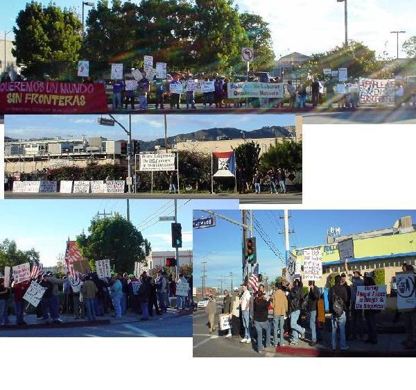 Counterprotestors...