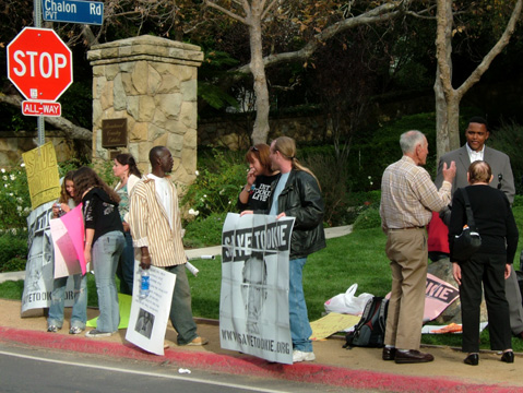 Vigil for clemency a...