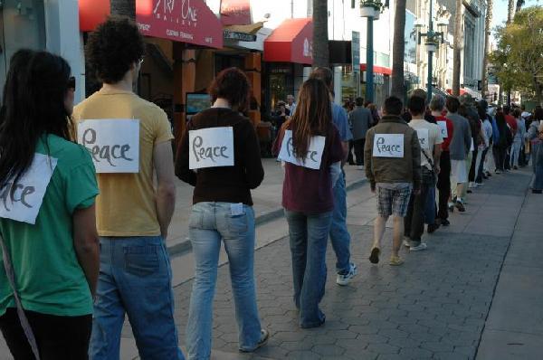 Peace Walk...