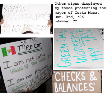 More signs....