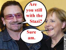 Bono the fake....