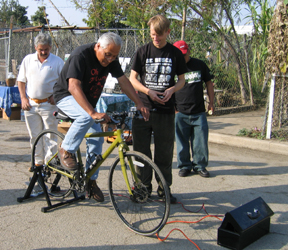 Bike powered sound s...