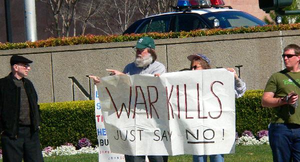 Anti-war!...