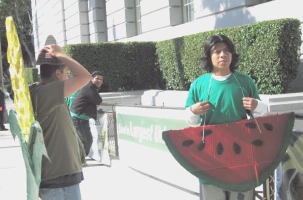 corn and watermelon...
