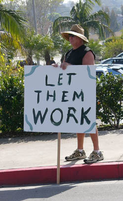 Let Them Work...