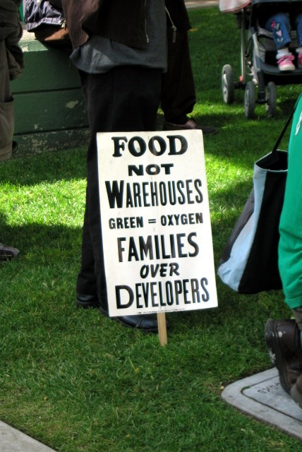 food not warehouses...