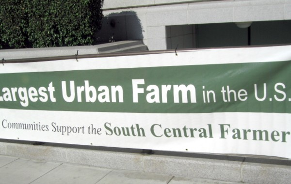 largest urban farm...