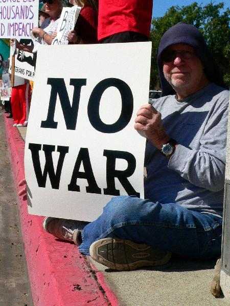No War....No War!!!...