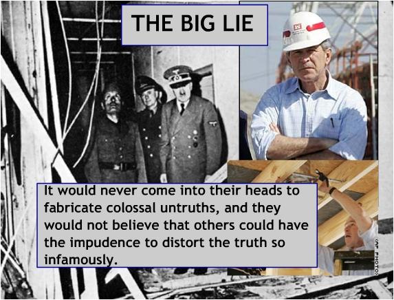 The Big Lie...