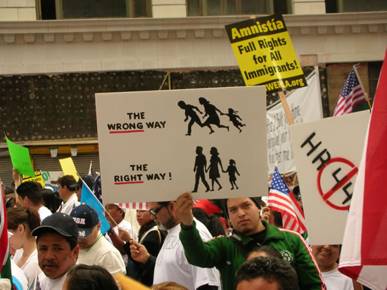 Immigrant Rights mar...
