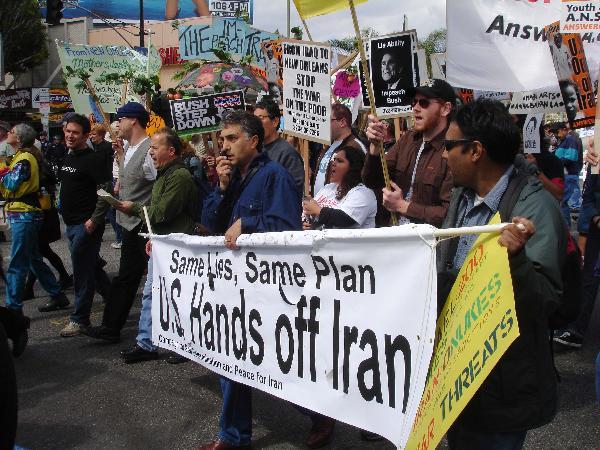 Hands Off Iran!...