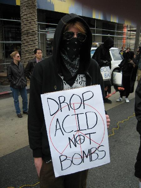 Drop Acid not Bombs...