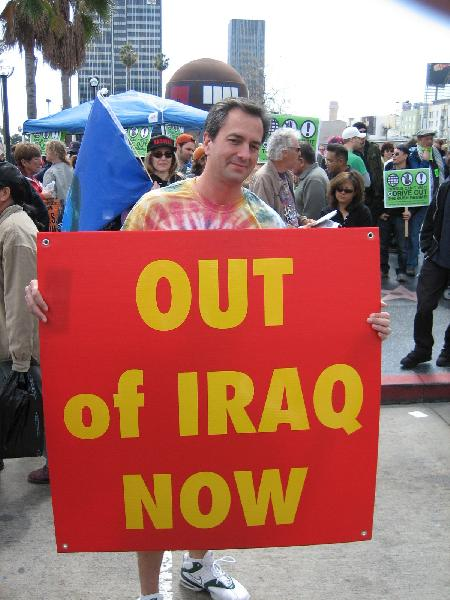 Out of Iraq Now...
