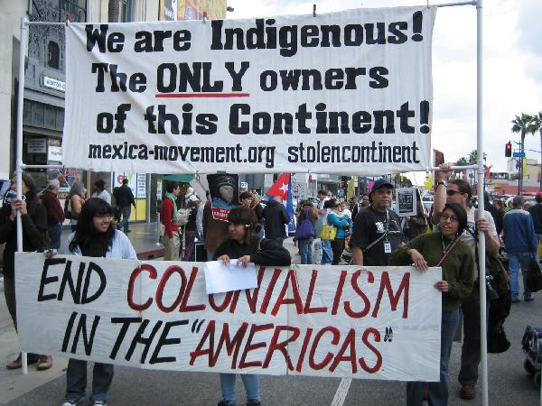 End Colonialism...