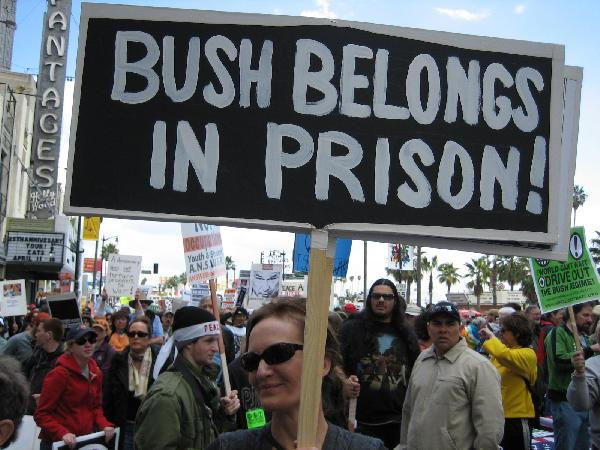 Bush Belongs in Pris...