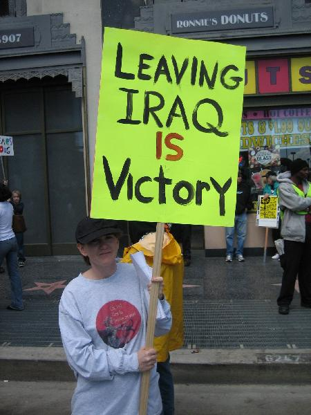Leaving Iraq IS Vict...