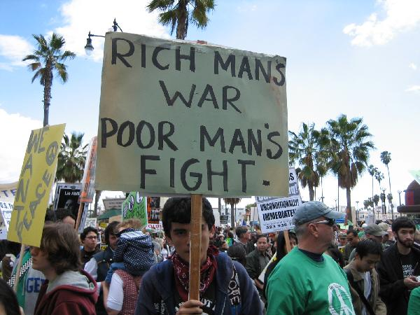 Rich Man's War...