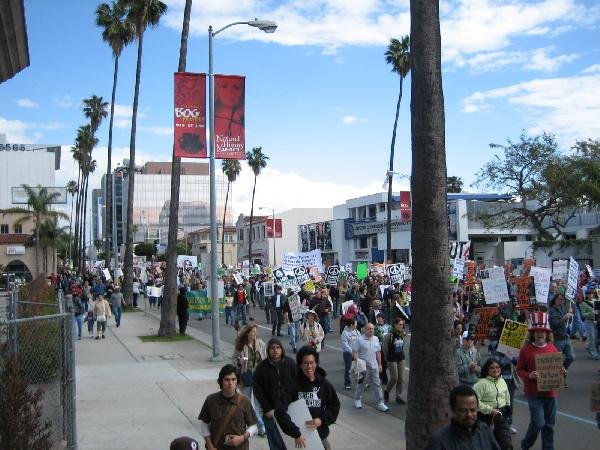 Marching on Sunset B...