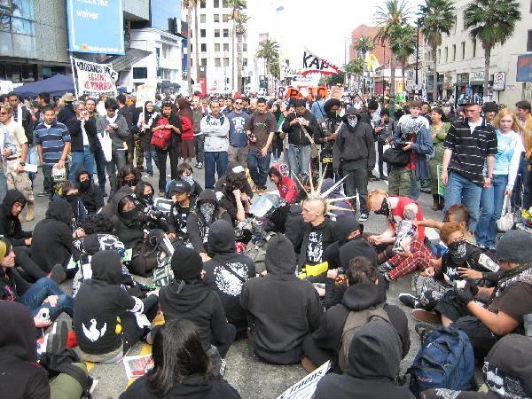 Anarchist Sit-In...