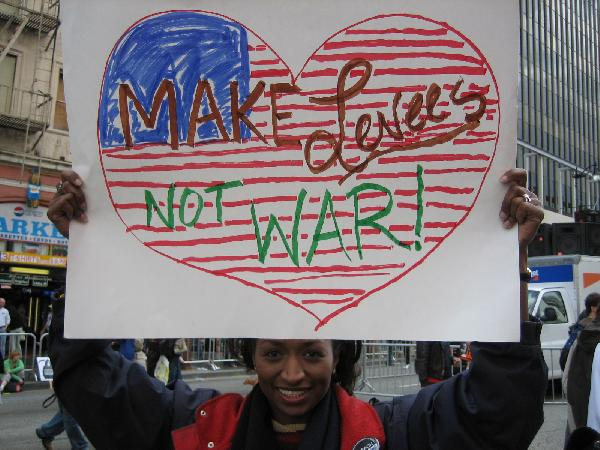 Make Levees Not War...