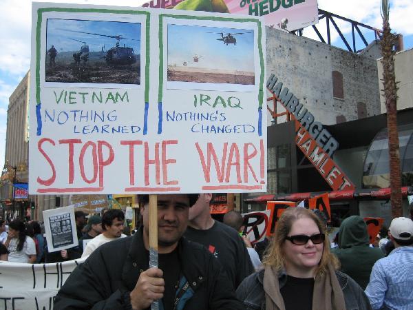 Vietnam - Iraq...