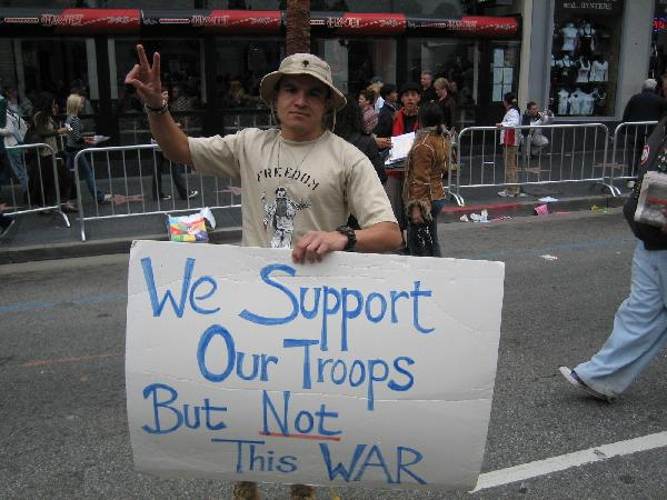 We Support Our Troop...
