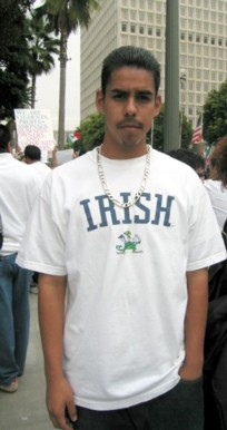 Irish immigrant, LA ...