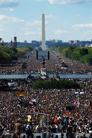Million Man March...