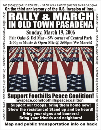 Pasadena Rally on Ma...